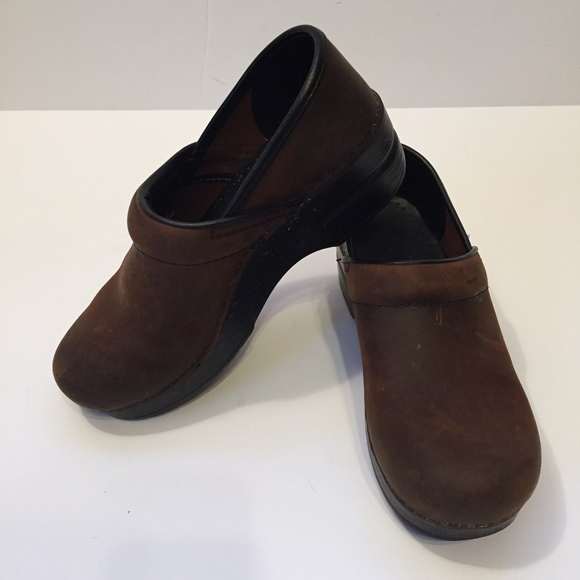 50e78a40fc Dansko Shoes | Brown Leather Clogs | Poshmark